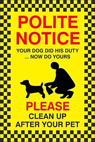 Your Dog Did His Duty … Now do Yours